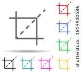 selection mark multi color...