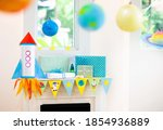 Space theme kids birthday party....