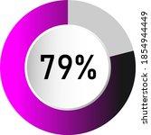 79  circle percentage diagrams  ...