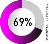69  circle percentage diagrams  ...