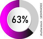 63  circle percentage diagrams  ...