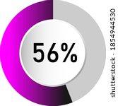 56  circle percentage diagrams  ...