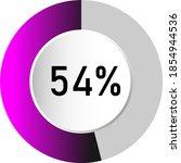 54  circle percentage diagrams  ...