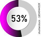 53  circle percentage diagrams  ...