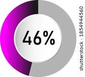 46  circle percentage diagrams  ...