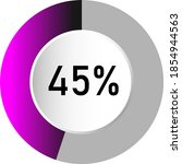 45  circle percentage diagrams  ...