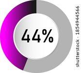 44  circle percentage diagrams  ...
