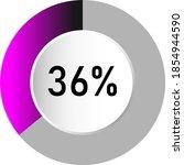 36  circle percentage diagrams  ...