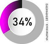 34  circle percentage diagrams  ...