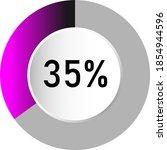 35  circle percentage diagrams  ...