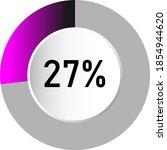 27  circle percentage diagrams  ...