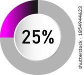 25  circle percentage diagrams  ...
