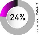 24  circle percentage diagrams  ...