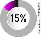 15  circle percentage diagrams  ...