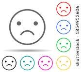 emotionally upset multi color...