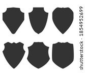 shields black silhouettes... | Shutterstock .eps vector #1854952699