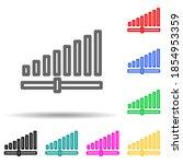 signal strength multi color...