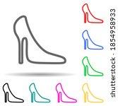 women's shoe multi color style...