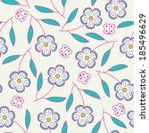 seamless hand drawn pattern...   Shutterstock .eps vector #185496629
