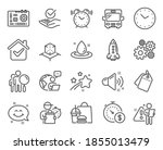 technology icons set. included... | Shutterstock .eps vector #1855013479