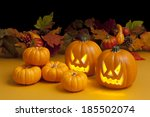Haunted Carved Pumpkins For...