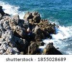 Rocky Coast Mediterranean Sea ...