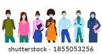 cartoon color characters people ... | Shutterstock .eps vector #1855053256