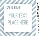 paper square sticker on... | Shutterstock .eps vector #1855128493