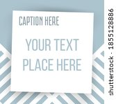 paper square sticker on... | Shutterstock .eps vector #1855128886