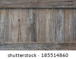 Weathered Boards On The Side O...