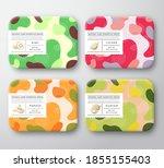 bath care cosmetics boxes set....   Shutterstock .eps vector #1855155403