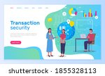 transaction security  people...   Shutterstock .eps vector #1855328113
