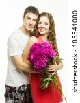 Beautiful Young Love Couple On...