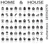 home and house | Shutterstock .eps vector #185542970