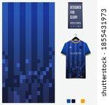 fabric pattern design.... | Shutterstock .eps vector #1855431973