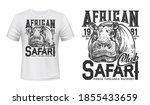 african safari club t shirt...   Shutterstock .eps vector #1855433659