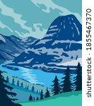 glacier national park and... | Shutterstock .eps vector #1855467370