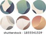 natural landscape circle... | Shutterstock .eps vector #1855541539