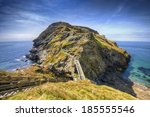 From Tintagel  Cornwall