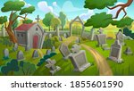 Cemetery Graveyard Landscape...