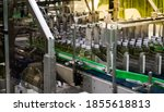 Small photo of Bundle shrink packaging wrapping machine in food industry