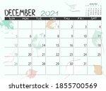 Calendar 2021 Year. December...