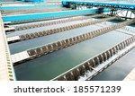 modern urban wastewater... | Shutterstock . vector #185571239