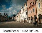 tel    telc empty old town...   Shutterstock . vector #1855784026