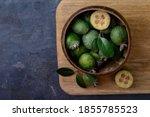 Feijoa Fruits Or Pineapple...