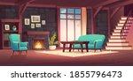 luxury old living room interior ... | Shutterstock .eps vector #1855796473