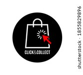 click  play and collect banner. ... | Shutterstock .eps vector #1855829896