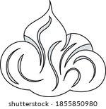 shaving foam icon. editable...