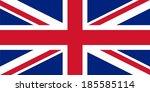 uk flag | Shutterstock .eps vector #185585114