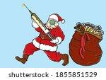 christmas celebration during... | Shutterstock .eps vector #1855851529